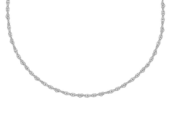 D318-52646: 1.5MM 14KT 18IN GOLD ROPE CHAIN WITH LOBSTER CLASP