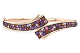 G233-98136: BANGLE 3.12 MULTI-COLOR 3.30 TGW (AMY,GT,PT)