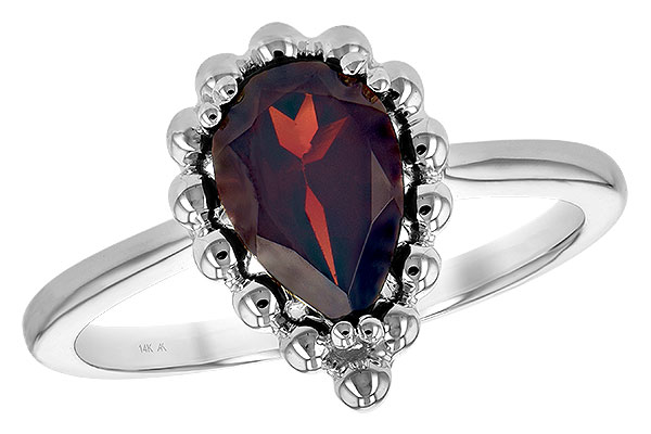 M234-86345: LDS GARNET RING 1.38 CT