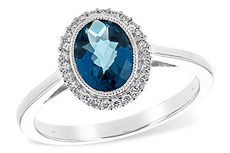 D234-83564: LDS RG 1.27 LONDON BLUE TOPAZ 1.42 TGW