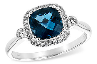 F234-83564: LDS RG 1.62 LONDON BLUE TOPAZ 1.78 TGW