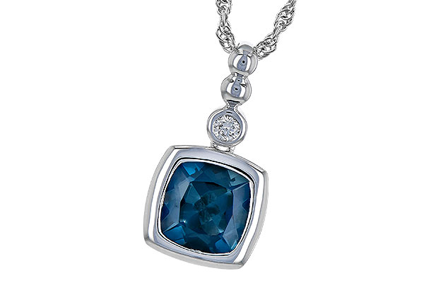 L235-76281: NECK 1.50 LONDON BLUE TOPAZ 1.54 TGW